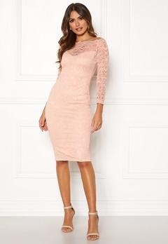 AX Paris Lace Off Shoulder Dress Mushroom Bubbleroom.se
