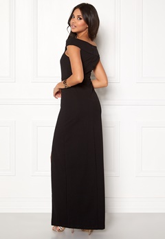 AX Paris Off The Shoulder Cross Dress Black Bubbleroom.se