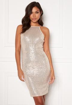AX Paris Sequin Mini Dress Champagne Bubbleroom.se