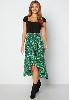 AX Paris Wrap Midi Dress Green bubbleroom.se
