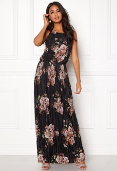 VILA B Maxi S/L Dress Black Bubbleroom.se
