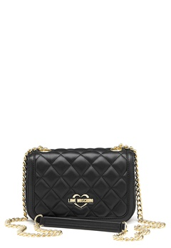 Love Moschino Bag With Chain 00B Black/Gold Bubbleroom.se