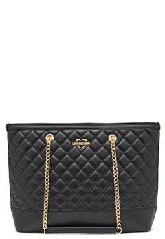 Love Moschino Bag With Chain 00B Black/Gold Bubbleroom.fi