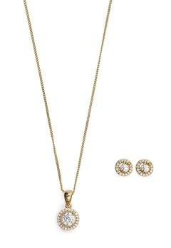 Ivory & Co Balmoral Gold Set Gold Bubbleroom.se