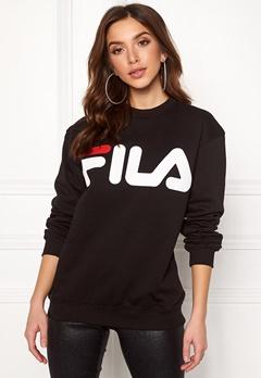 FILA Basic Classic Logo Sweat Black Bubbleroom.se