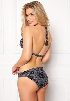 BEACHWAVE Jonna Bikinitrosa Svart/Vit Bubbleroom.se