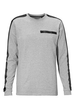 ONLY & SONS Beckham crew neck Medium grey melange Bubbleroom.se