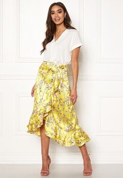 Becksøndergaard Calista Shelby Skirt Yellow Bubbleroom.se
