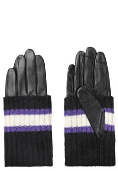 Becksöndergaard Glitsa Glove Purple Bubbleroom.se