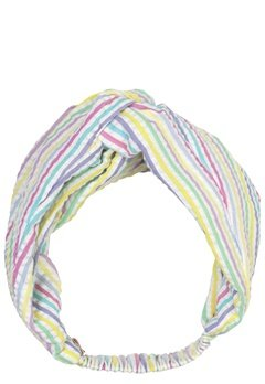 Becksöndergaard Multi Stripes Hairband 400 Yellow Bubbleroom.se