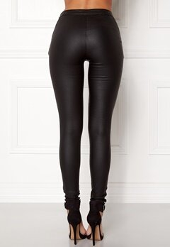 OBJECT Belle Coated Legging Black Bubbleroom.se