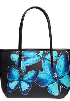 Bellissima Bags Handväska, Benji Svart, blå Bubbleroom.se