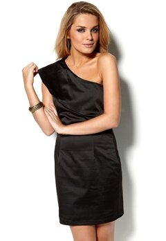 b.young Belma Dress Black Bubbleroom.se