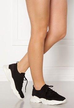 Bianco Case Laced Knit Sneakers 104 Black Bubbleroom.se
