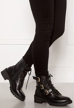 Bianco Claire Biker Boot 100 Black Bubbleroom.se