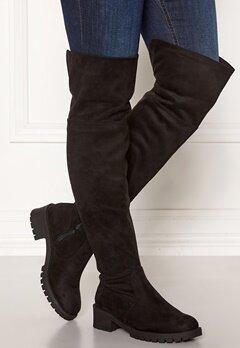 Bianco Claire Overknee Boots 101 Black Bubbleroom.se