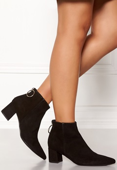 Billi Bi Black Booties Black/Gold Bubbleroom.fi