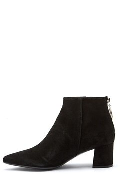 Billi Bi Black Booties Black/Gold Bubbleroom.se