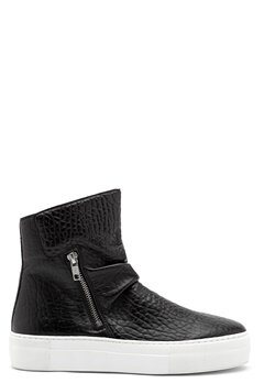 Billi Bi Black Sport Sneaker Black/White Bubbleroom.no