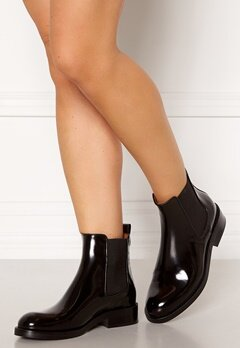 Billi Bi Chelsea Leather Boots Black Polido 900 Bubbleroom.se