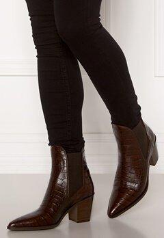 Billi Bi Leather Croco Boots Brown 8505 Luisiana Bubbleroom.se
