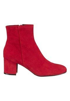 Billi Bi Red Suede Boots Red Bubbleroom.se