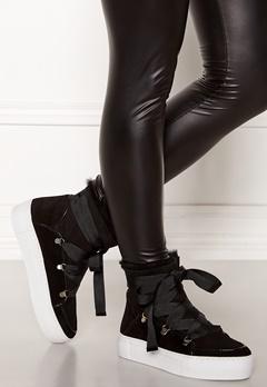 Billi Bi Suede Boots Black/White Bubbleroom.se
