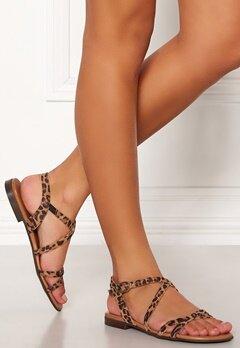Billi Bi Suede Sandals 542 Leopard Bubbleroom.se