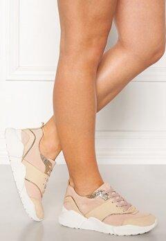 Billi Bi Suede Sneakers Beige/Rose Bubbleroom.se