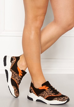 Billi Bi Suede Sneakers Leo/Orange Bubbleroom.se