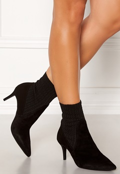 Billi Bi Suede Stretch Boots Black Bubbleroom.se