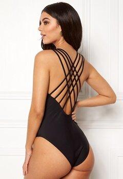 Pieces Bine Swimsuit Black Bubbleroom.se