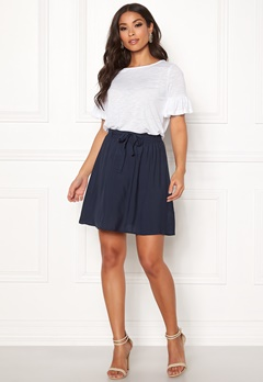 VERO MODA Boca NW Short Skirt Navy Blazer Bubbleroom.se
