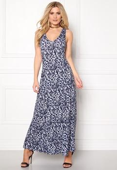 Boomerang Annona Jersey Dress 806 Midnight Blue Bubbleroom.se