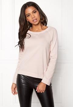 Boomerang Hera Sweat Shirt Chalk Pink Bubbleroom.se