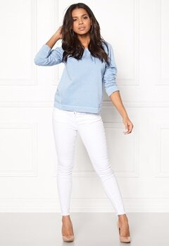 Boomerang Hera Sweat Shirt Cloud Blue Bubbleroom.se