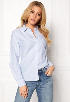 Boomerang Lilly Striped Shirt Ice blue Bubbleroom.fi
