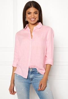 Boomerang Lina Linen Shirt Middway Pink Bubbleroom.se