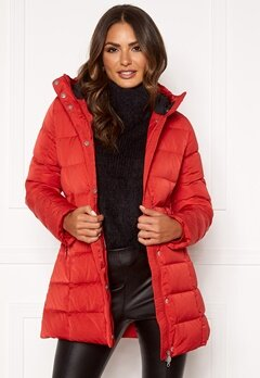 Boomerang Siri Down Jacket Real Red Bubbleroom.se
