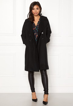 Boomerang Spell Wool Coat Black Bubbleroom.se