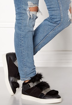SOFIE SCHNOOR Boot With Fur Black Bubbleroom.se