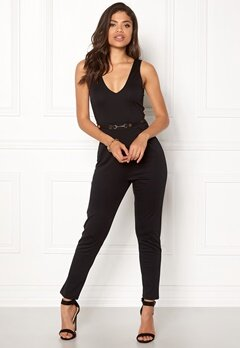 BUBBLEROOM Aina jumpsuit Black Bubbleroom.no