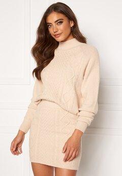 BUBBLEROOM Aisha knitted sweater Cream bubbleroom.se