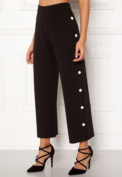 BUBBLEROOM Alexa button trousers Black / White Bubbleroom.se