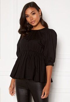 BUBBLEROOM Alyssa blouse Black Bubbleroom.se