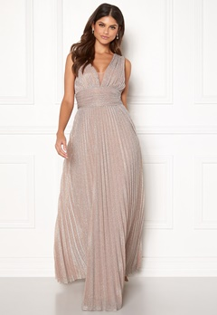 BUBBLEROOM Amalfi evening dress Champagne Bubbleroom.se