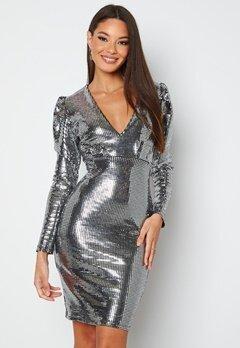 BUBBLEROOM Amorette Dress Silver bubbleroom.se