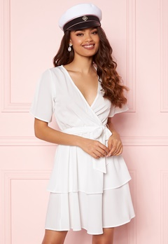 BUBBLEROOM Amra Dress White Bubbleroom.se