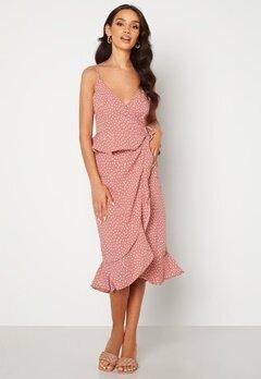 BUBBLEROOM Analisa dress Pink / White / Dotted Bubbleroom.se
