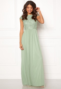 BUBBLEROOM Ariella prom dress Light green Bubbleroom.se